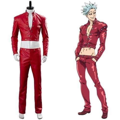 The Seven Deadly Sins Nanatsu No Taizai Wrath Of The Gods Ban Suit Cosplay Costume