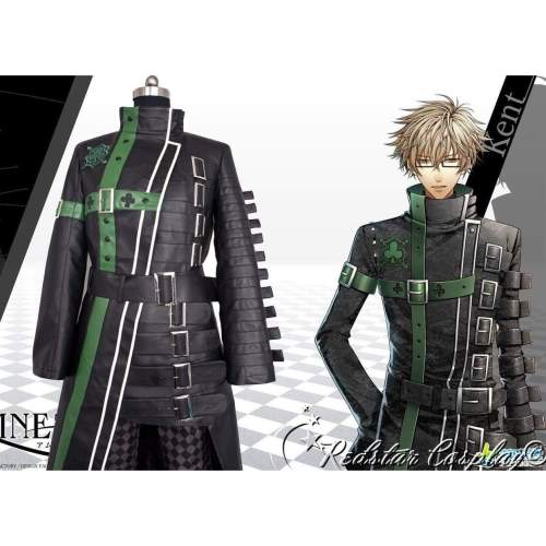Amnesia Kent Anime Cosplay Costume - Leather or Uniform cloth fabric - Custom-made in Any size