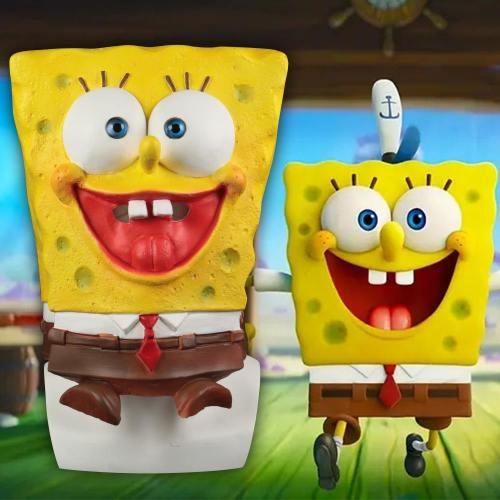 Cosplay Spongebob Squarepants Mask Patrick Star Masquerade Party Funny Masks Latex Adult Prop