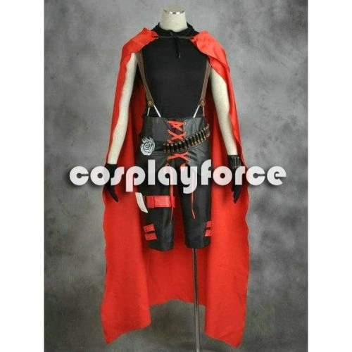 Rwby Red Trailer Ruby Rose Cosplay Costume Man Version