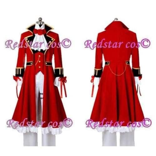 Pandora Hearts Oz Vessalius Cosplay Costume - Custom made in Any size
