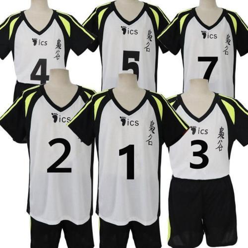 Anime Haikyuu Cosplay Costume High School Sports Suit Team Uniform