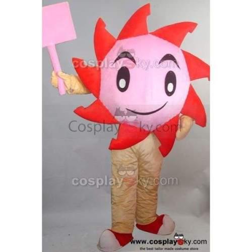 Sunflower  Mascot Costume Adult Size