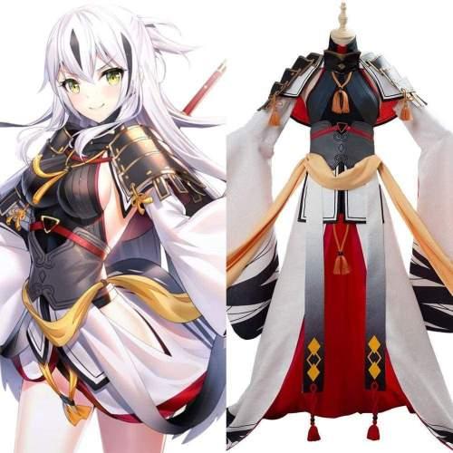 Fate/Grand Order Nagao Kagetora Cosplay Costume