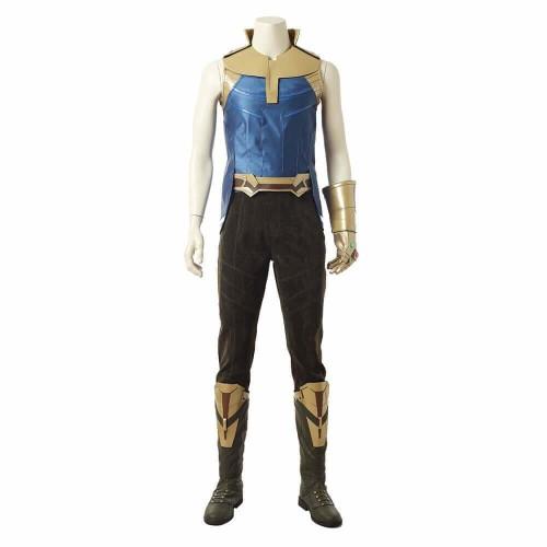 Avengers Infinity War Thanos Costume Halloween Cosplay Suit