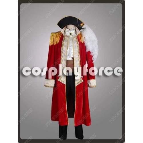 New Hetalia: Axis Powers Spain Pirate Cosplay Costume
