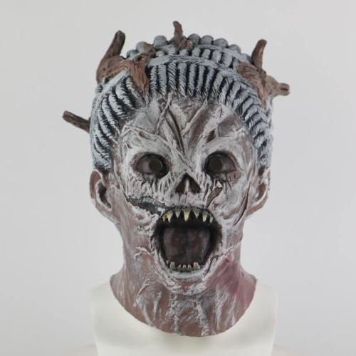 Cosplay Game Dead By Daylight Mask New Killer The Hag Masks Halloween Scary Face Masks Helmet Prop