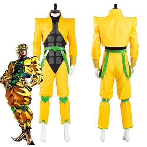 Jojo'S Bizarre Adventure Dio Brando Top Pants Outfit Halloween Carnival Suit Cosplay Costume