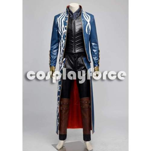 Devil May Cry 3 Vergil Cosplay Costume mp002710