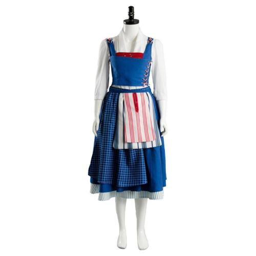 Beauty And The Beast  Film Belle Emma Watson Maid Dress