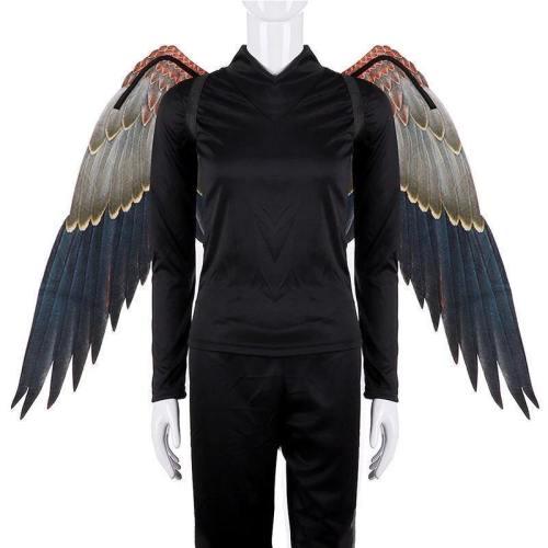 Disfraz De Pajaritos Burningman Festival Adult Japanese Game Onmyoji Cosplay Tengu Bird Carnival Costume Large Big Eagle Wings