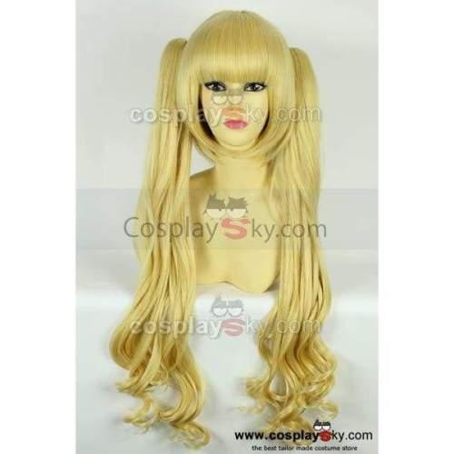 Karneval Tsukumo Pale Gold Cosplay Wig