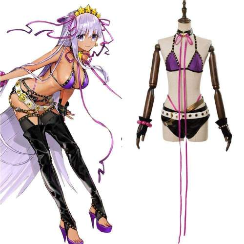 Fate/Grand Order Bb Swimsuit Cosplay Costume