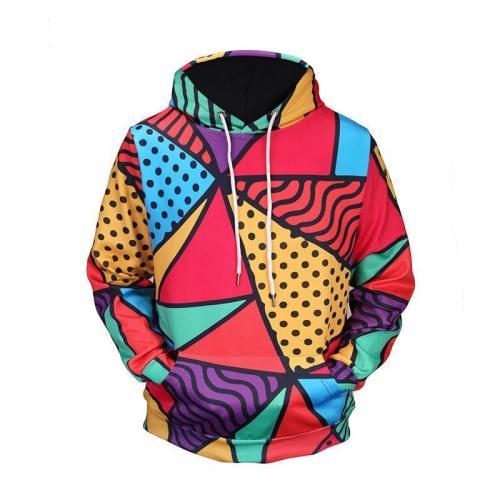Causal Creative Hoodie 3D Print Pullover Sweatshirt
