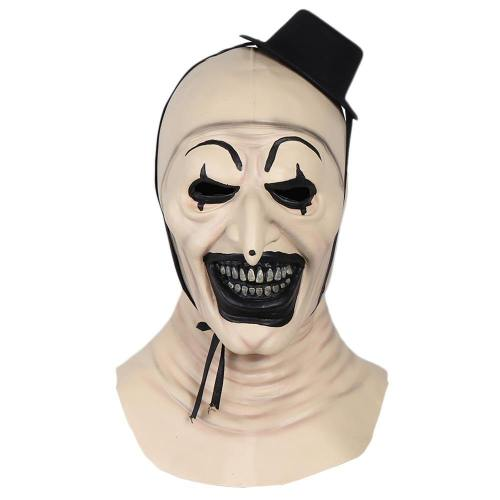 Terrifier Joker 2 Evil Clown Hat Helmet Halloween Party Cosplay Props