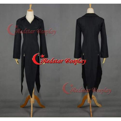 One Punch Man Wanpanman Tornado Cosplay Costume Summer Black Dress