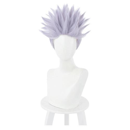 Jujutsu Kaisen Satoru Gojou Heat Resistant Synthetic Hair Carnival Halloween Party Props Cosplay Wig