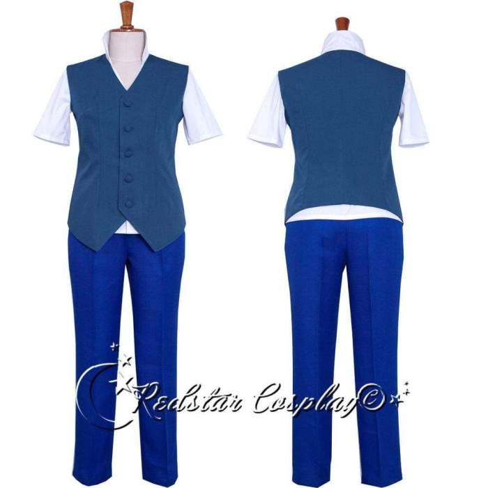 K Fushimi Saruhiko Uniform Cosplay Costume - Custom made in any size