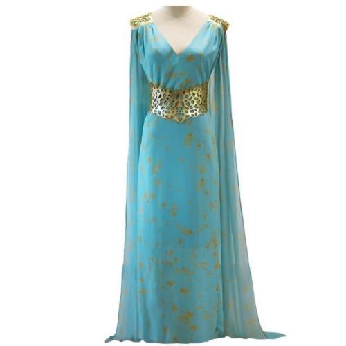 Mother Of Dragons Game Of Thrones Daenerys Targaryen Dress Costumes