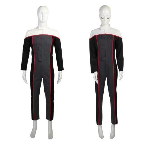Star Trek Voyager Racing Suit Jumpsuit Drive Costumes Full Set  Halloween Cosplay Costume