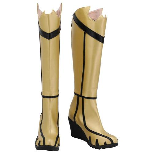 Batman Arkham Knight: Batgirl Boots Halloween Costumes Accessory Cosplay Shoes