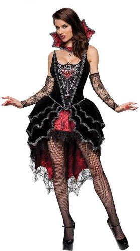 Vampire Witch Sexy Gothic Dress Costume For Women Halloween