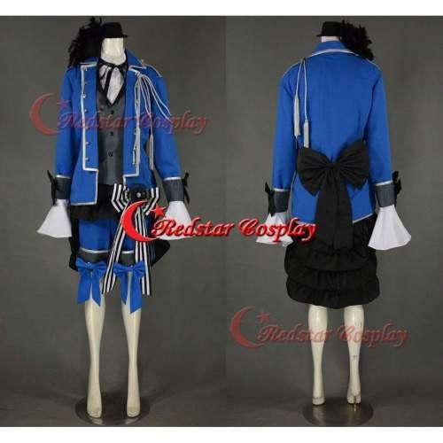 Kuroshitsuji Ciel Phantomhive Cosplay Costume (Blue) Black Butler Cosplay