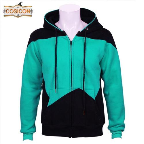 Star Trek Tng The Next Genaration Hoodies Zipper Jackets Sweatshirts Coat Cosplay Costume