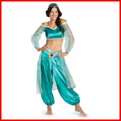 Lamp Of Aladdin Jasmine Princess Dress Costumes