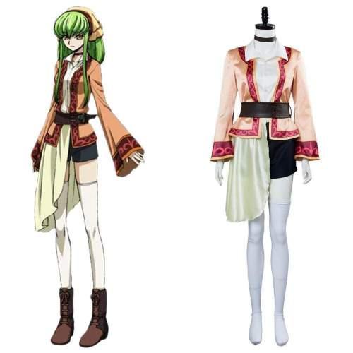 Code Geass: Lelouch Of The Resurrection Season 3 Cc Dress Cosplay Costume