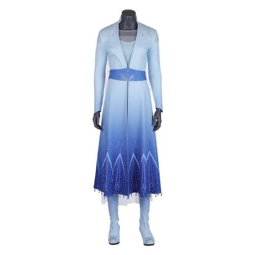 Frozen 2 Elsa Dress Costume Cosplay Party