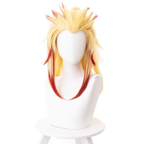Demon Slayer Rengoku Kyoujurou Cosplay Wig