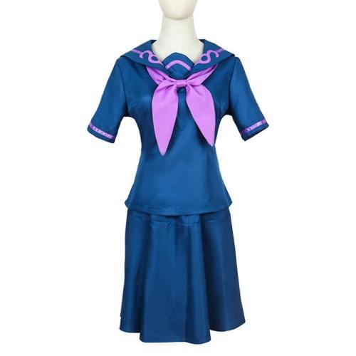 Jojo'S Bizarre Adventure Yamagishi Yukako Uniform Skirt Outfits Halloween Carnival Suit Cosplay Costume