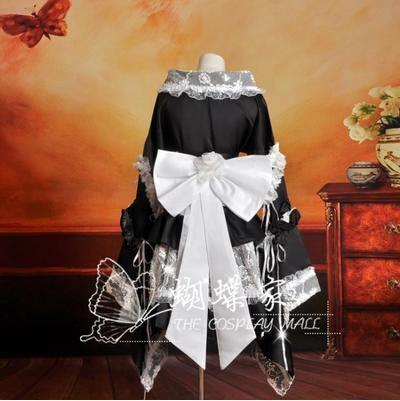 Cosplay Lolita Kimono Dress/Costume