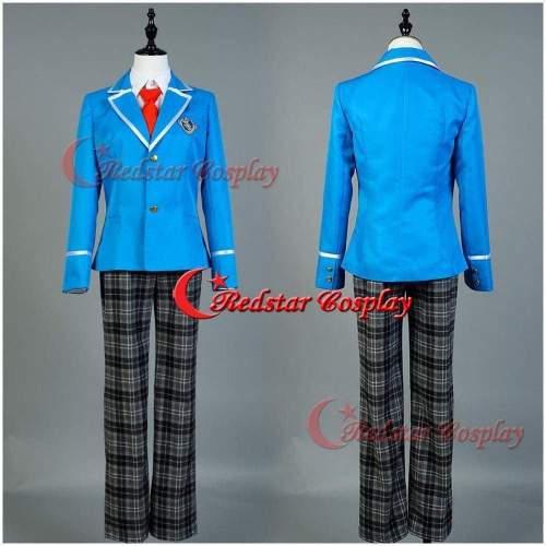 Ensemble Star 1-3St Year Tori Himemiya Leo Tsukinaga Souma Kanzaki Cosplay Costume School Uniform Suit Outfit