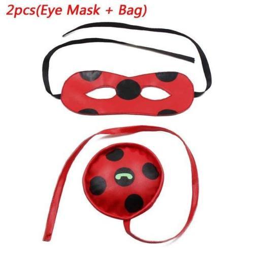 Fantasia Spandex Ladybug Miraculous Costumes Kids Adult Cosplay Party Bag Girls Children Lady Bug