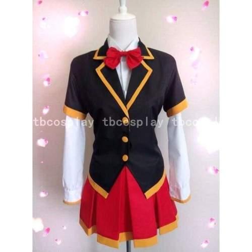 Akuma no Riddle Zou Ru School Uniform Cosplay Costume