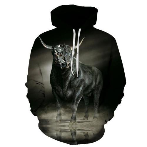 The Taurus - April 21 To May 21 3D Sweatshirt Hoodie Pullover