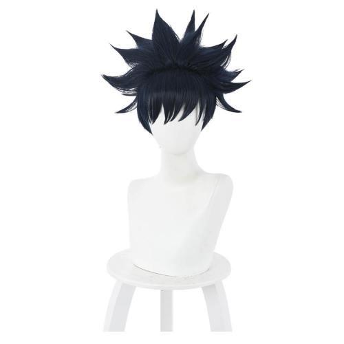 Anime Jujutsu Kaisen Megumi Fushiguro Heat Resistant Synthetic Hair Carnival Halloween Party Props Cosplay Wig