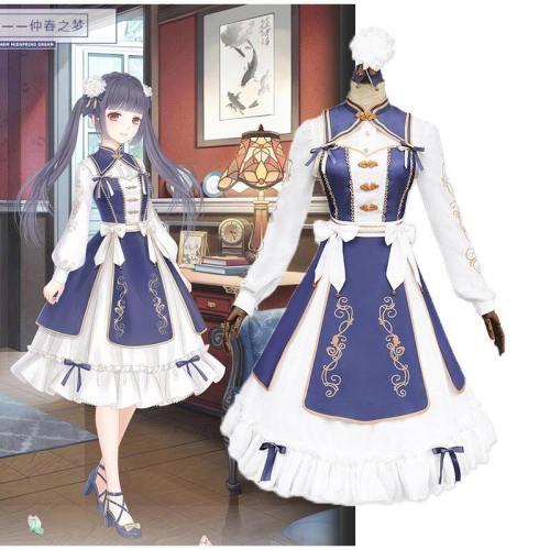 Miracle Nikki Lolita Dress Costume Girls Cosplay
