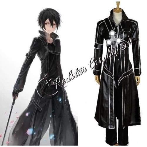 Sword Art Online Kazuto Kirigaya Cosplay Costume - Custom made in Any size
