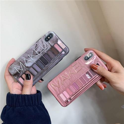 Glossy Naked Makeup Eyeshadow Palette Phone Case
