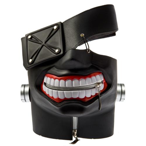 Tokyo Ghoul Ken Kaneki Latex Mask With Adjustable Zipper Cosplay Gifts