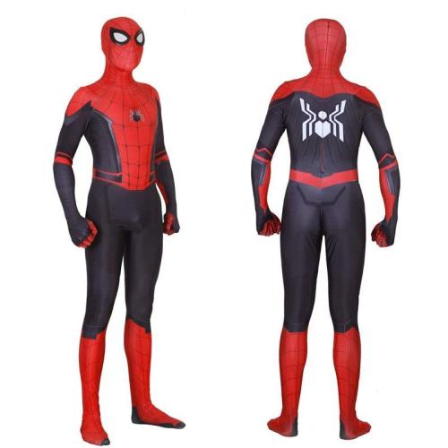 Spider-Man Far From Home Peter Parker Adult Bodysuit Cosplay Costume