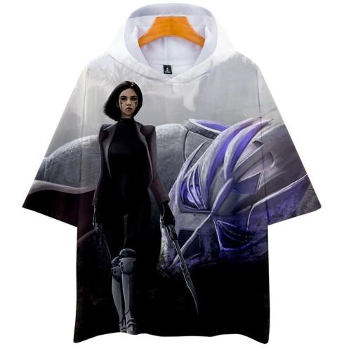 Alita T-Shirt - Battle Angel Graphic Hoodie T-Shirt