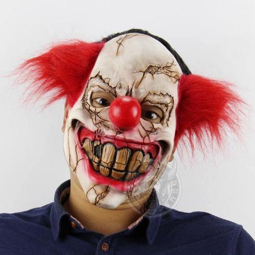 Halloween Party Joker Mask Ghost Latex Masks
