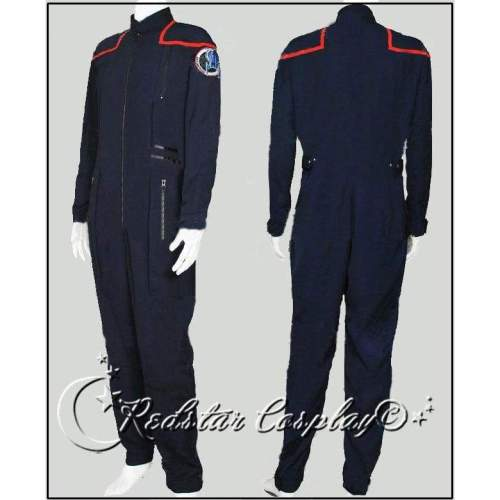 Star Trek Enterprise Commander Charles Trip Tucker III Jumpsuit Cosplay Costume - Custom made in any size