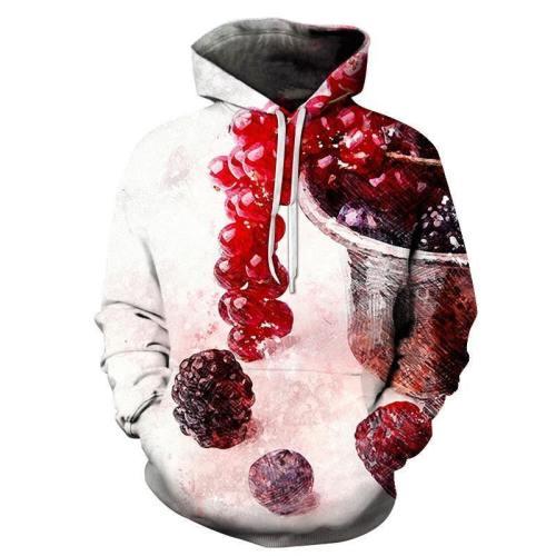 Red And White Jello 3D Sweatshirt