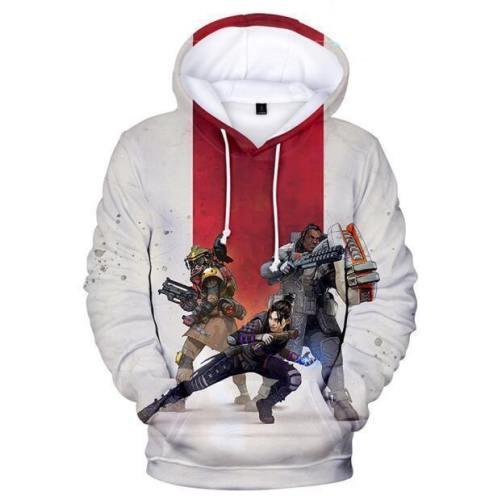 Apex Legends 3D Hoodies Hooded Pullover Sweatshirt