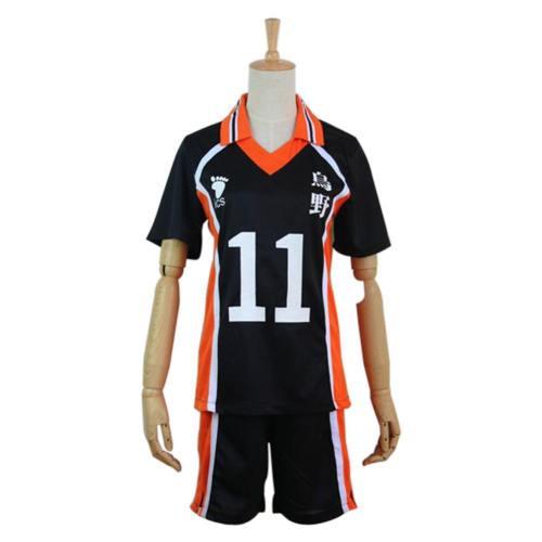 Haikyuu Cosplay Costume Karasuno High School Volleyball Club Tsukishima Kei Sportswear Jerseys Uniform